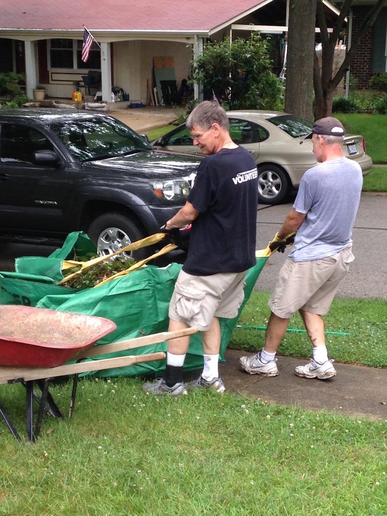 Volunteers at Goldwood